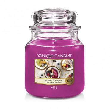 Średnia świeca Exotic Acai Bowl Yankee Candle