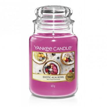 Duża świeca Exotic Acai Bowl Yankee Candle