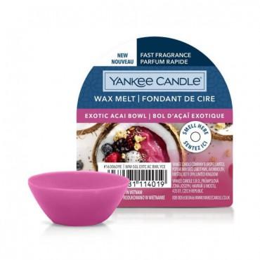 Wosk Exotic Acai Bowl  Yankee Candle