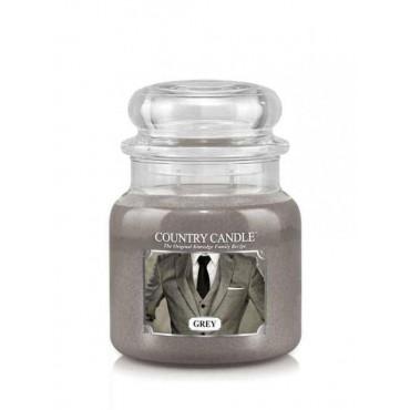 Średnia świeca Grey Country Candle