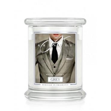 Średnia świeca Grey Kringle Candle