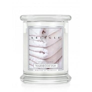 Średnia świeca Warm Cotton Kringle Candle