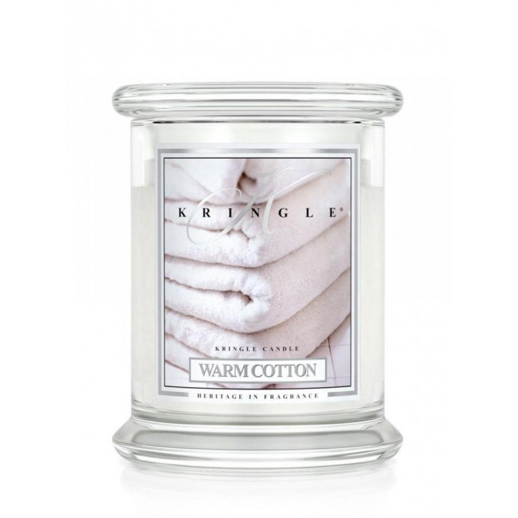 Średnia świeca Warm Cotton Kringle Candle