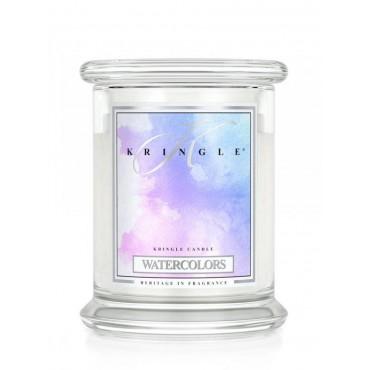 Średnia świeca Watercolors Kringle Candle
