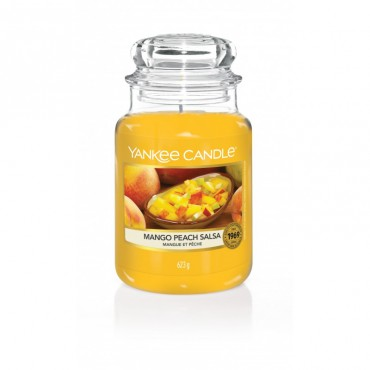 Duża świeca Mango Peach Salsa Yankee Candle