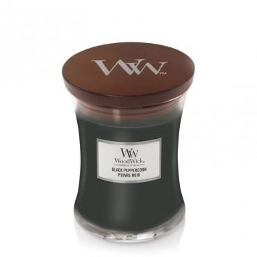 Średnia świeca Black Peppercorn Woodwick