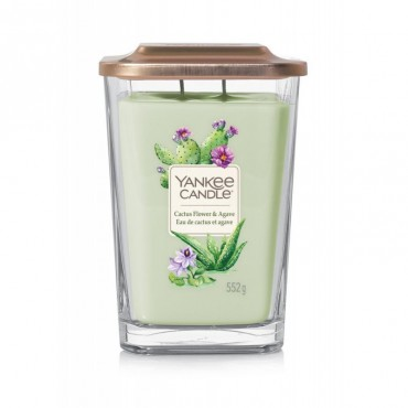 Elevation duża świeca Cactus Flower & Agave Yankee Candle