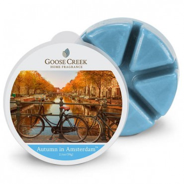 Wosk zapachowy Autumn in Amsterdam Creek Candle