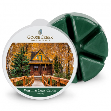 Wosk zapachowy Warm & Cozy Cabin Goose Creek Candle