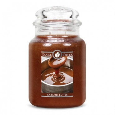 Duża świeca Caramel Butter Goose Creek Candle