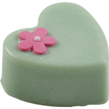 Kostka do masażu z masła kakaowego MAŚLANE SERCE – Bomb Cosmetics