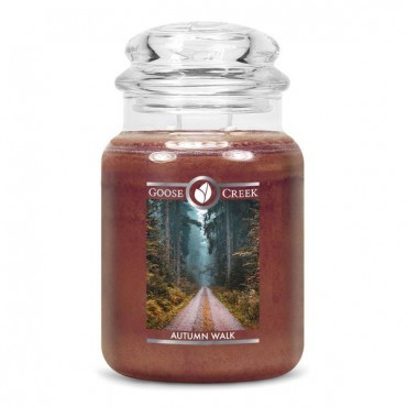 Duża świeca Autumn Walk Goose Creek Candle