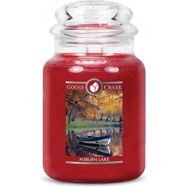 Duża świeca Auburn Lake Goose Creek Candle