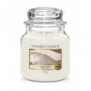 Średnia świeca Angel's Wings Yankee Candle