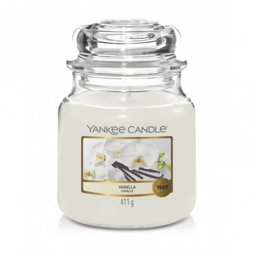 Średnia świeca Vanilla Yankee Candle