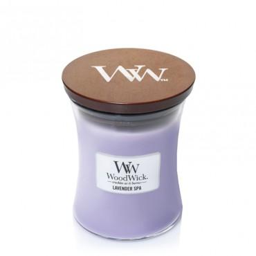 Średnia świeca Lavender Spa Woodwick