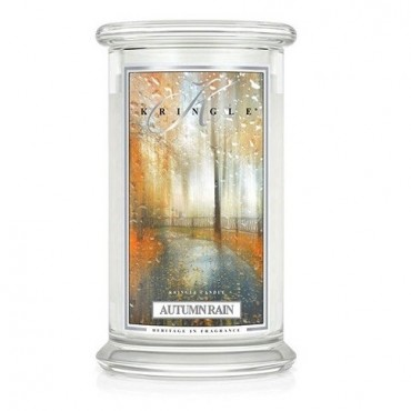 Duża Świeca Autumn Rain Kringle Candle