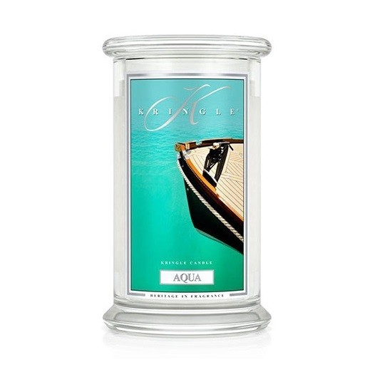 Duża świeca Aqua Kringle Candle