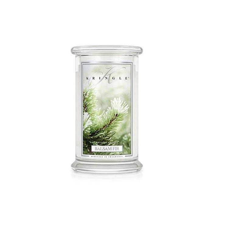 Duża świeca Balsam fir Kringle Candle