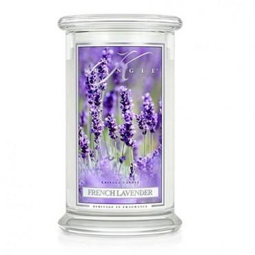 Duża świeca French Lavender Kringle Candle