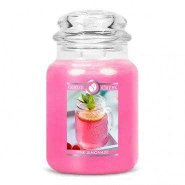 Duża świeca Pink Lemonade Goose Creek Candle