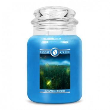 Duża świeca Summer Fireflies Goose Creek Candle