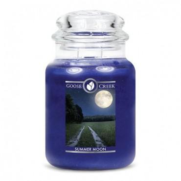 Duża świeca Summer Moon Goose Creek Candle