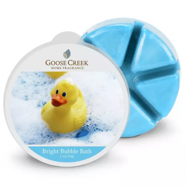 Wosk zapachowy Bright Bubble Bath Goose Creek Candle