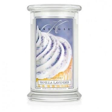 Duża świeca Vanilla Lavender Kringle Candle