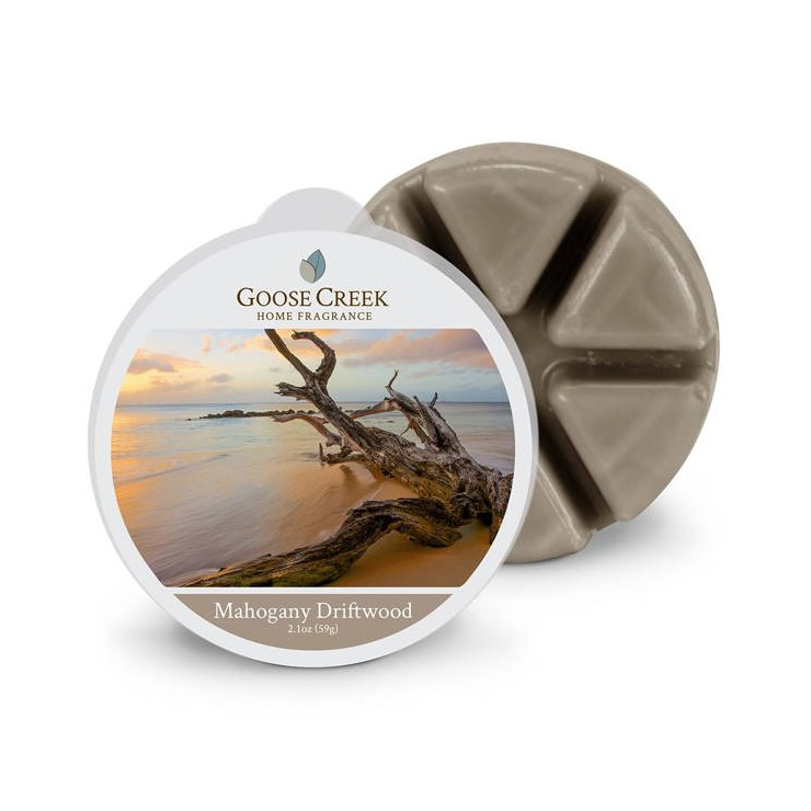 Wosk zapachowy Mahogany Driftwood Goose Creek Candle