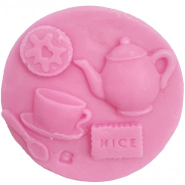 Mydło glicerynowe Tea & Biscuits Bomb Cosmetics