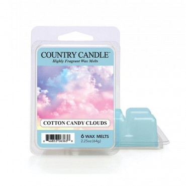 Wosk zapachowy Cotton Candy Clouds Country Candle