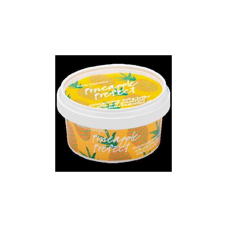 Masło do ciała z 30% Shea ANANASOWE z połyskiem – Bomb Cosmetics