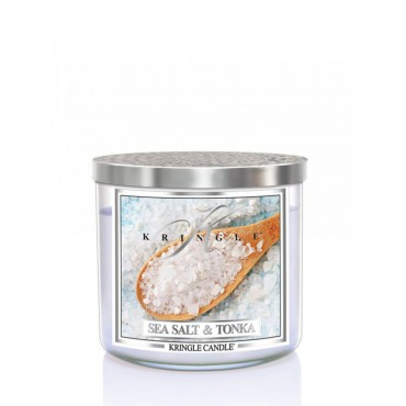 Tumbler Sea Salt & Tonka Kringle Candle