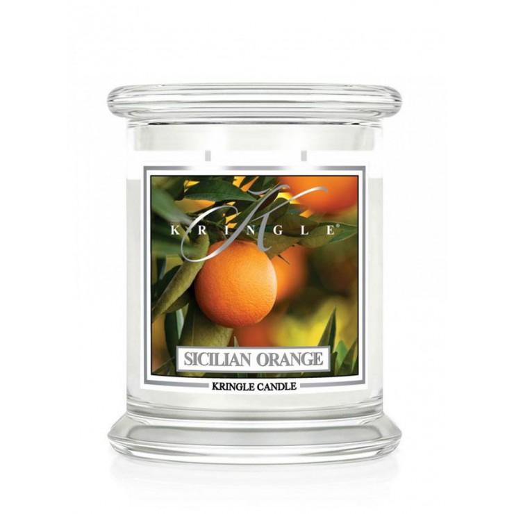 Średnia świeca Sicilian Orange Kringle Candle