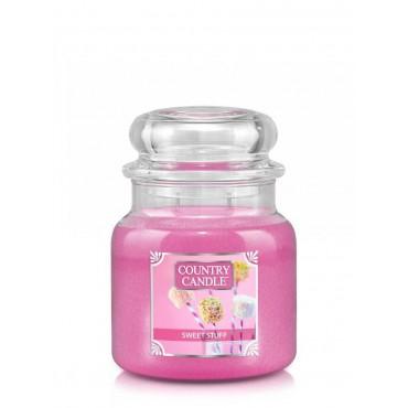 Średnia świeca Sweet Stuff Country Candle
