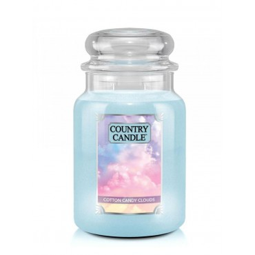Duża świeca Cotton Candy Clouds Country Candle