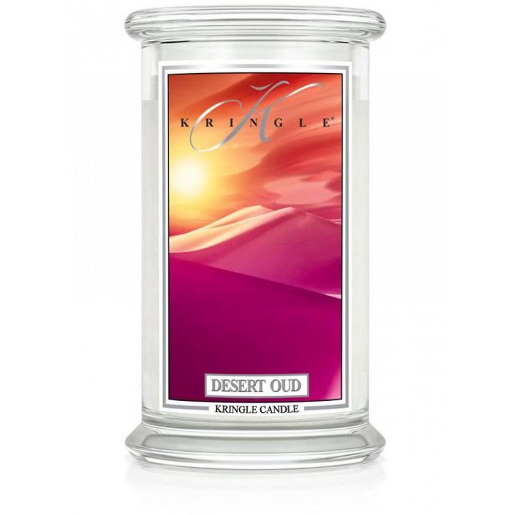 Duża świeca Desert Oud Kringle Candle