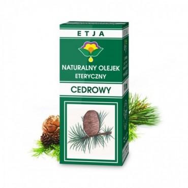 Naturalny olejek cedrowy - Etja