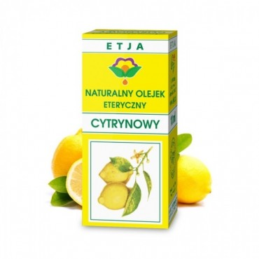 Naturalny olejek cytrynowy - Etja