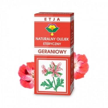 Naturalny olejek geraniowy - Etja