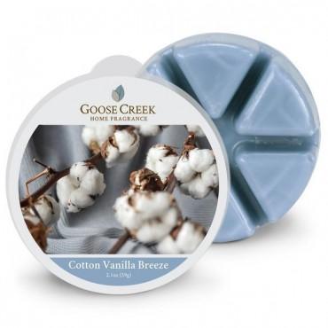 Wosk zapachowy Cotton Vanilla Breeze Goose Creek Candle