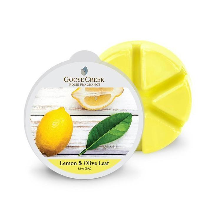 Wosk zapachowy Lemon Olive Leaf Goose Creek Candle