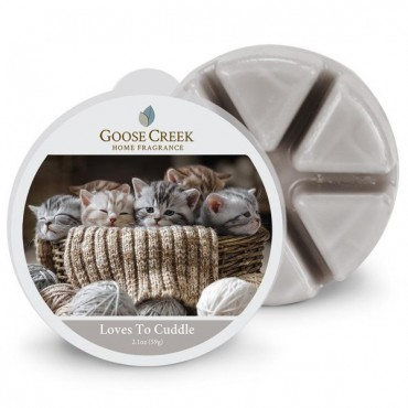 Wosk zapachowy Loves to Cuddle Goose Creek Candle