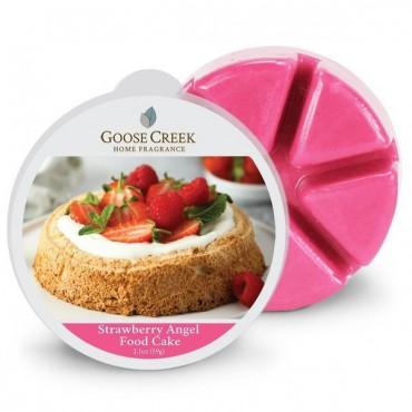 Wosk zapachowy Strawberry Angel Food Cake Goose Creek Candle