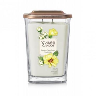 Elevation duża świeca Blooming Cotton Flower Yankee Candle