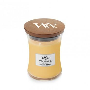 Średnia świeca Seaside Mimosa Woodwick