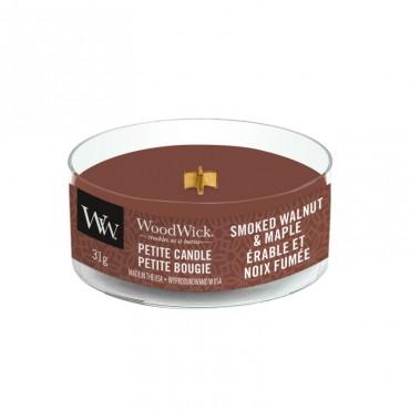 Świeca Petite Smoked Walnut & Maple WoodWick