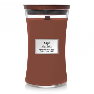 Duża Świeca Smoked Walnut & Maple WoodWick