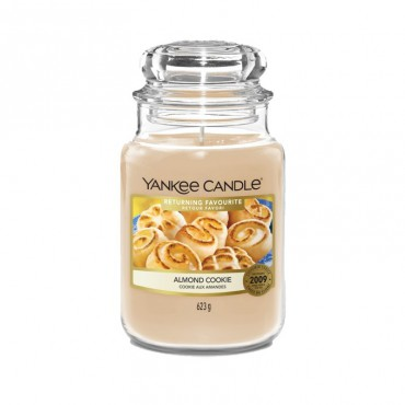 Duża świeca Almond Cookie Yankee Candle